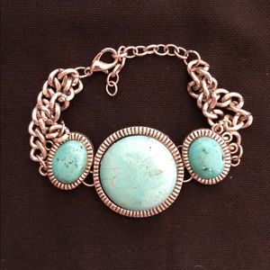 Jewelry - Silver Turquoise Bracelet